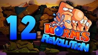 getlinkyoutube.com-Worst. Stalemate. Ever. (Worms Revolution #12)