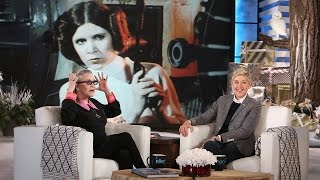 Ellen Chats with Carrie Fisher