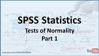 getlinkyoutube.com-SPSS: Tests Of Normality