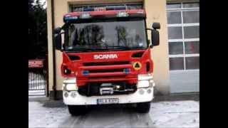 Scania P380 Straż Pożarna