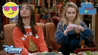 getlinkyoutube.com-Girl Meets World | Secret Santa | Official Disney Channel UK
