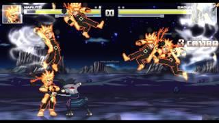getlinkyoutube.com-Naruto Ashura vs Sasuke Indra mugen