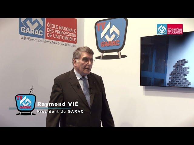 Le Président du GARAC parle des projets de l'Ecole Nationale de la Profession