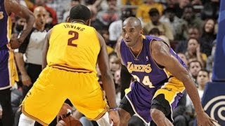getlinkyoutube.com-Kobe & Kyrie duel in Cleveland!