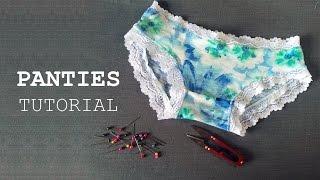 getlinkyoutube.com-DIY - Sewing Panties Tutorial - Tự may quần lót