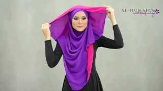 getlinkyoutube.com-LUJAA shawl styling tutorial by Al-Humaira Contemporary