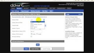 getlinkyoutube.com-اعدادات السوفت المتطور DD-WRT فى وضع الأرسال