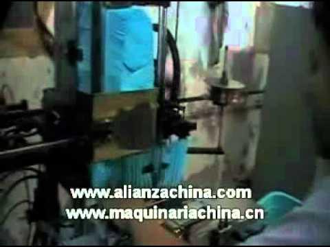 Maquina insertadora de pelo para fabricar escoba