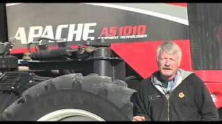 Apache Owner Testimonial: No-till; Terraced Ground