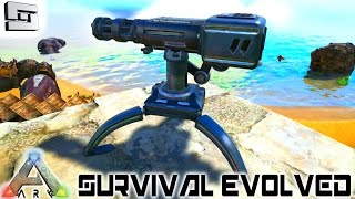 ARK: Survival Evolved - AUTO TURRET FTW! E47 ( Gameplay )