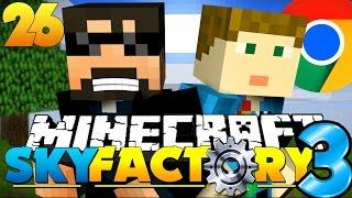 getlinkyoutube.com-Minecraft: SkyFactory 3 - GOOGLE HEADQUARTERS!! [26]