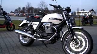 getlinkyoutube.com-Moto Guzzi V7 Classic 2010 Motorrad