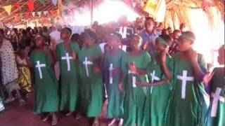 Choir at Church in Kigoma