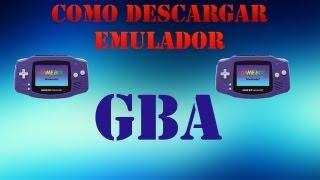 getlinkyoutube.com-Como descargar Emulador de GBA para PC (Game Boy Advance)