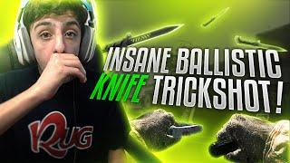 getlinkyoutube.com-INSANE BALLISTIC KNIFE TRICKSHOT!! (CALLED IT)