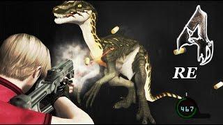 getlinkyoutube.com-DLC Rapty Dinosaur [raptor] Mod   Resident Evil 4