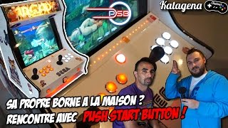 getlinkyoutube.com-Borne d'arcade Homemade - Rencontre avec Push Start Button [Video Facecam FR / Francais]