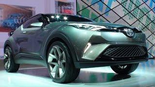 getlinkyoutube.com-(HD)TOYOTA C-HR Concept トヨタ・C-HRコンセプト 日本初公開 - TOKYO MOTOR SHOW 2015