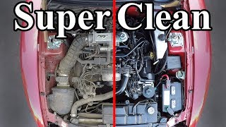 How to SUPER CLEAN your Engine Bay width=