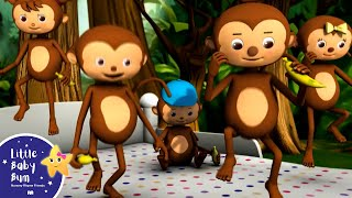 getlinkyoutube.com-Five Little Monkeys Jumping On The Bed | Part 1 | In HD from LittleBabyBum