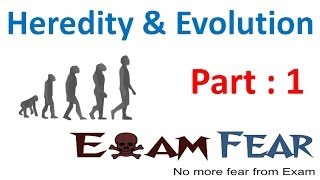 Biology Heredity & evolution part 1 (Introduction) CBSE class 10 X