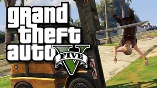 getlinkyoutube.com-GTA 5 Funny Gameplay Moments! #6 - Magic Jimmy Glitch and the Moon Gravity Cheat!
