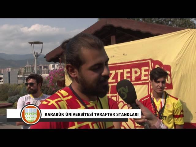 Karabük Üniversitesi Taraftar Standları