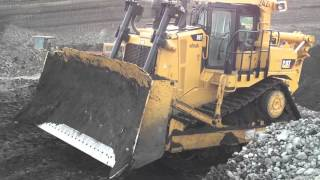 getlinkyoutube.com-Brand New Caterpillar D9T Dozer - First Test