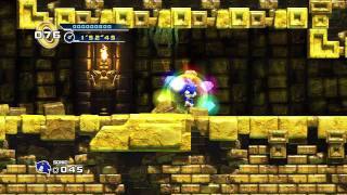 Sonic the Hedgehog 4 - Episode 1 Playthrough (Part 4 of 6): Lost Labyrinth Zone (Part 2 of 2)