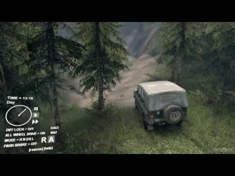 SpinTires TechDemo Update: UAZ Jeep