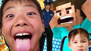 getlinkyoutube.com-妹とキチガイ少年の家荒らしたら「警察通報」されたwww(マインクラフト 荒らし)