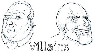 getlinkyoutube.com-Let's Draw Villains!
