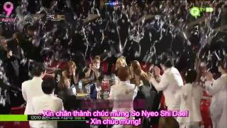 getlinkyoutube.com-[AA VIETSUB] [101209] SNSD win Disk Daesang @ 25th Golden Disk Awards 2010