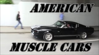 getlinkyoutube.com-Muscle Cars Leaving the Meeting!!!! Doin some small Burnouts & Acceleration Sound!!!!
