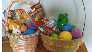 getlinkyoutube.com-Easter Egg Hunt Surprise Eggs Power Rangers WWE Robo Fish