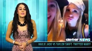 getlinkyoutube.com-Hailie Jade Mathers and Taylor Swift Fight!