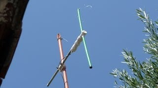 Extreme Broadband Dipole Antenna for 2 meters.