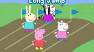getlinkyoutube.com-Peppa Pig's Sports Day Part 1 - best iPad app demo for kids - Ellie