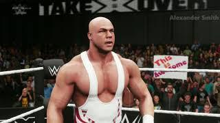WWE 2K18 Kurt Angle vs. Ric Flair