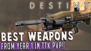 getlinkyoutube.com-Destiny   Best Year 1 Weapons for PvP in The Taken King!