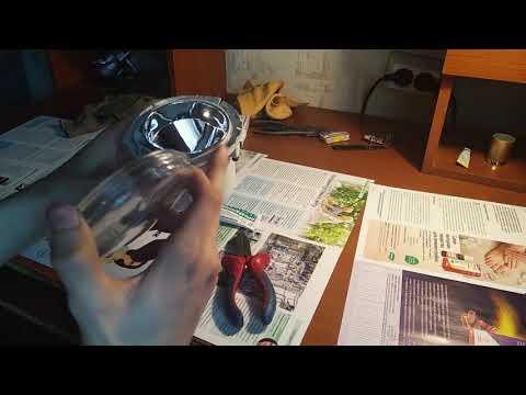 Замена стекла на противотуманных фарах фиат добло