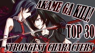 getlinkyoutube.com-Akame ga Kill! Top 30 Strongest Characters (Manga Only)
