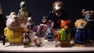 getlinkyoutube.com-Custom Lego Zootopia Minifigures: Bellwether, Doug, Koslov, and Duke Weaselton (100th Video)