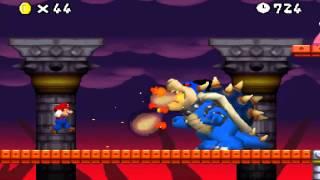 getlinkyoutube.com-New Super Mario Bros. The Lost Levels - NSMB hack (Final Boss, Dark Bowser)