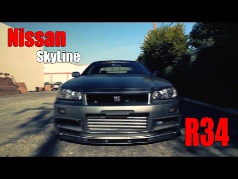 Nissan Skyline GT-R R34 Drift Car