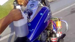 getlinkyoutube.com-HHO TEST ON MY MOTORBIKE 43 km - 031410 -V006