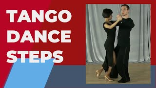 getlinkyoutube.com-Tango dance steps - Tango basic steps for beginners