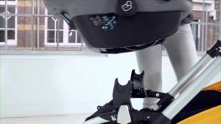 demo bugaboo bee - car seat adaptability