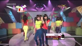 getlinkyoutube.com-Girls' Generation (소녀시대) - Dear Mom ~ Way To Go ~ Gee - Music Bank 2009.01.30