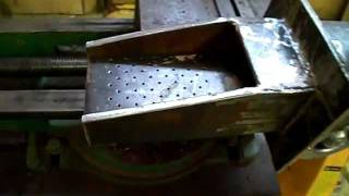 getlinkyoutube.com-Поршневая горелка для угля, пеллет и опила.